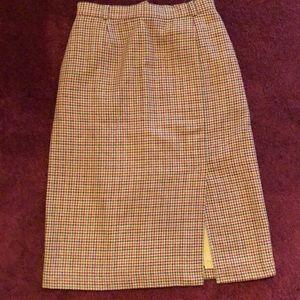 Dresses & Skirts - Koret Petites Houndstooth Pencil Skirt Size 14